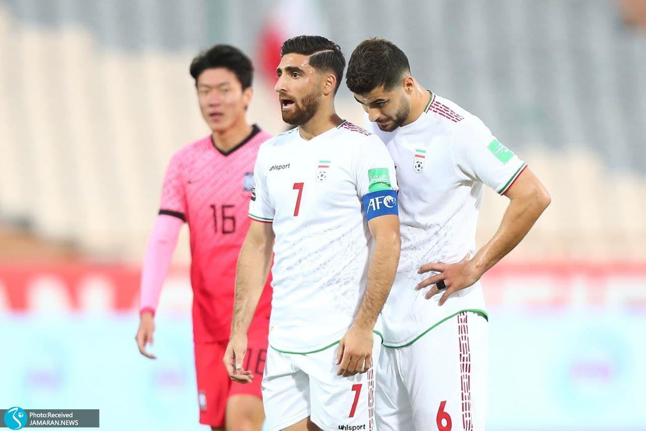 انتخابی جام جهانی 2022 - تیم ملی ایران - تیم ملی کره جنوبی- جهانبخش