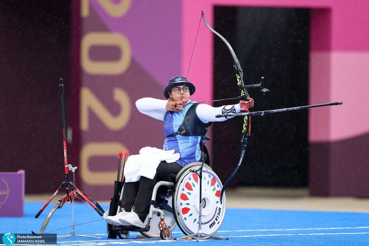 زهرا نعمتی پارالمپیک توکیو