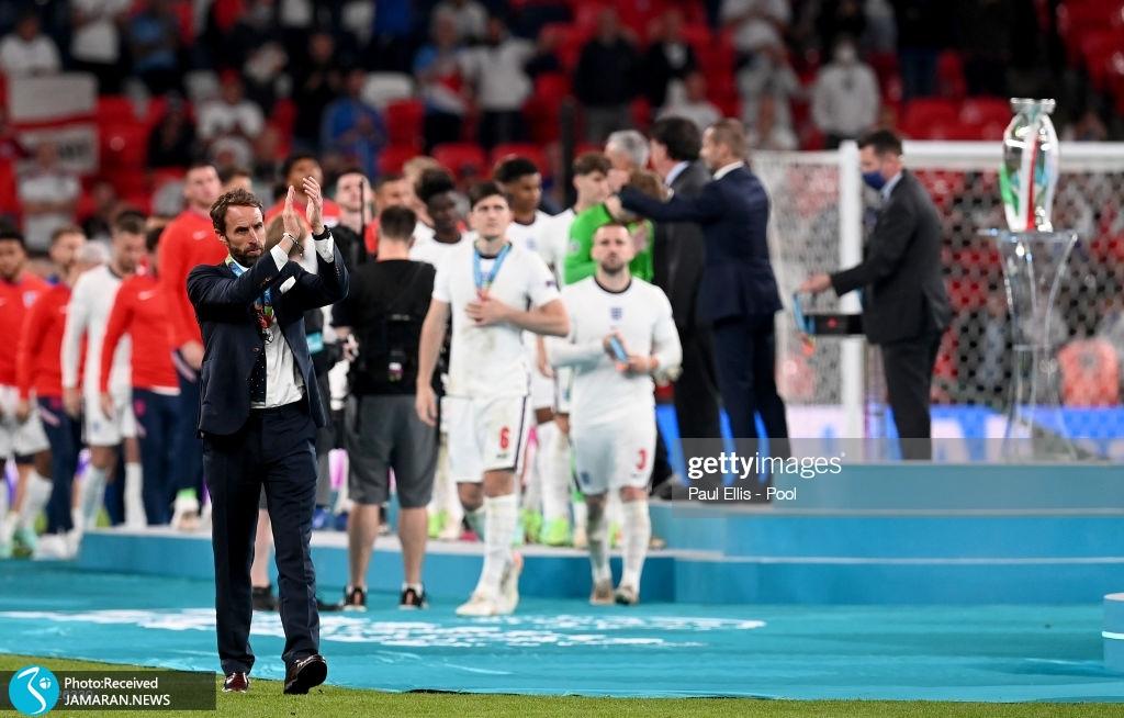 جشن قهرمانی ایتالیا در یورو گرت ساوتگیت