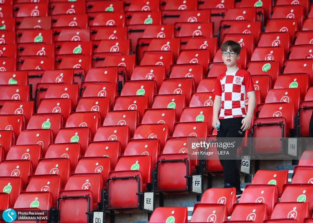 یورو ۲۰۲۰ - بازی تیم فوتبال کرواسی و جمهوری چک
