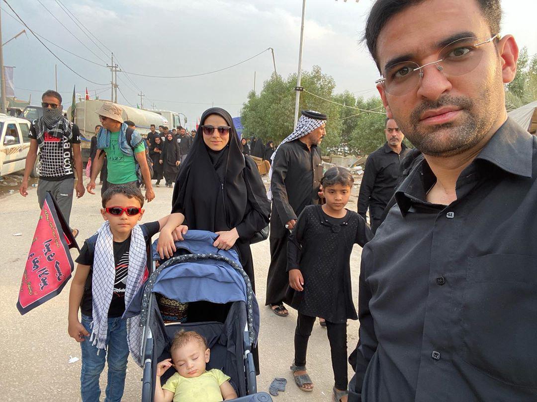 عکس خانوادگی اربعین