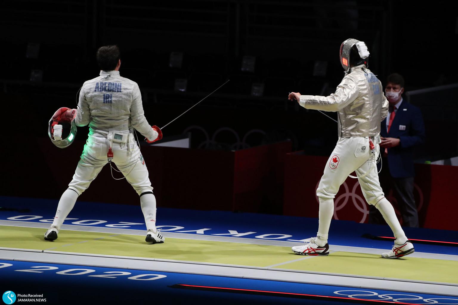 مجتبی عابدینی شمشیربازی المپیک