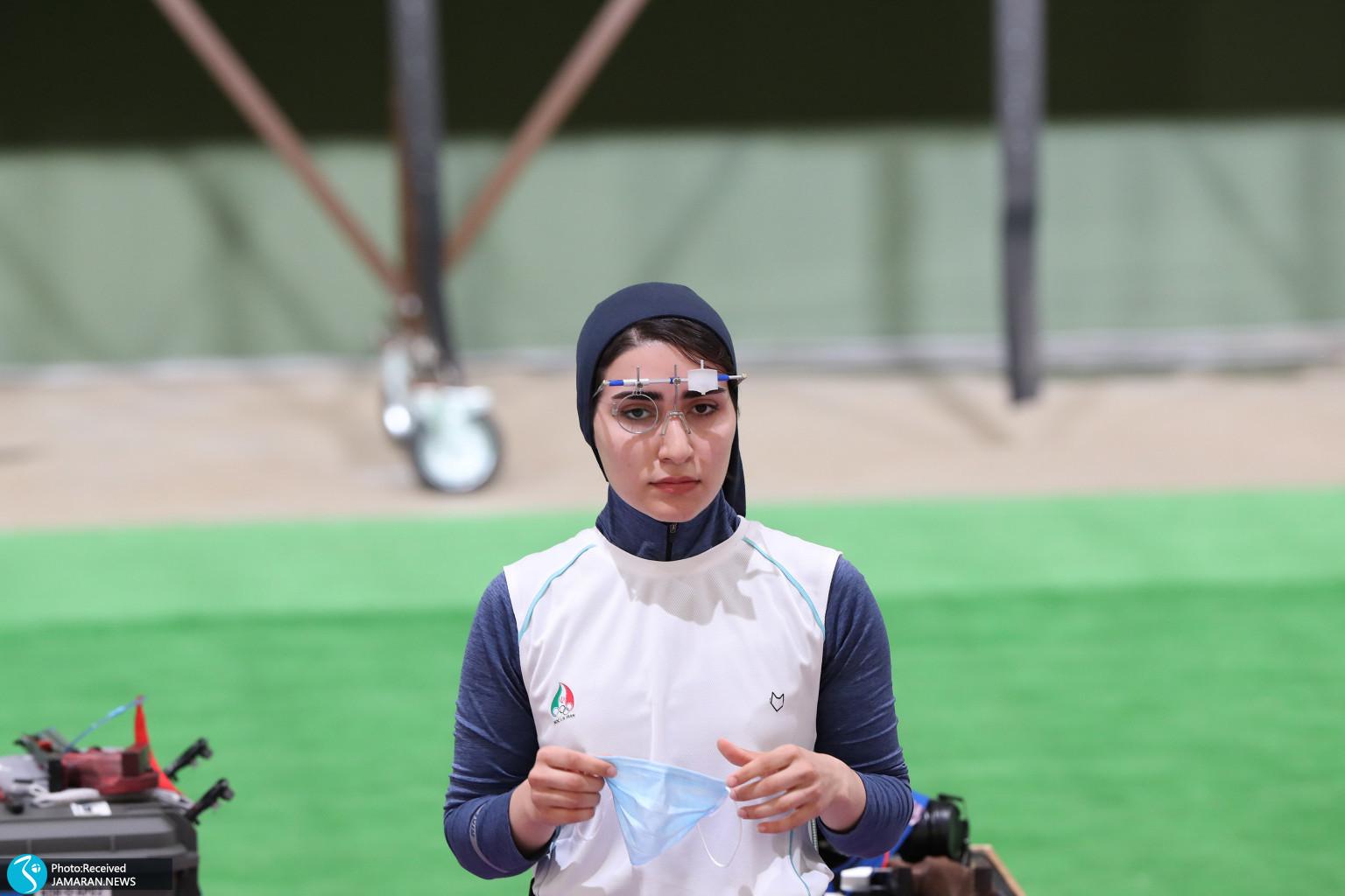 میکس تپانچه ایران در المپیک هانیه رستمیان