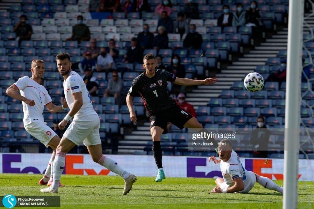 ایوان پرشیچ یورو 2020 - تیم فوتبال کرواسی و جمهوری چک