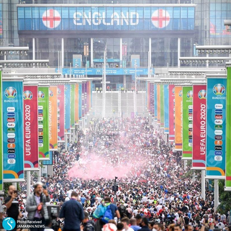 حواشی دیدار فینال یورو 2020