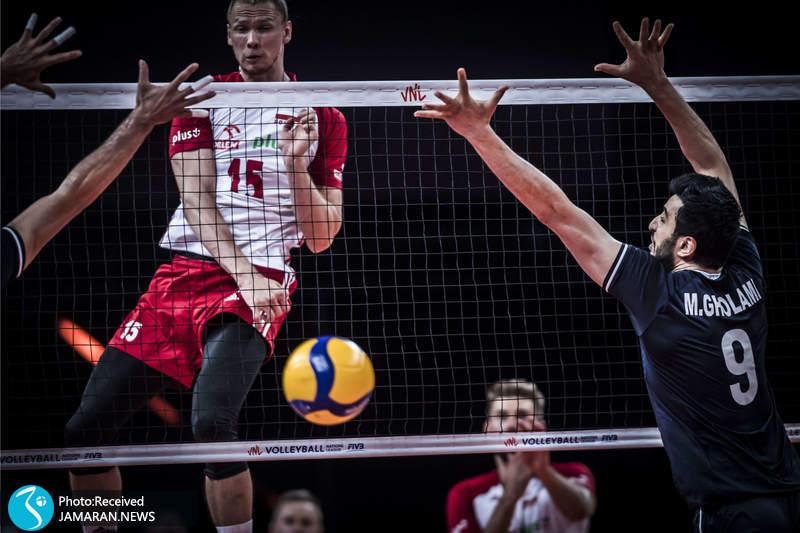 لیگ ملت های والیبال 2021 / ایران - لهستان