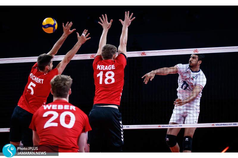لیگ ملت های والیبال 2021/ ایران - آلمان