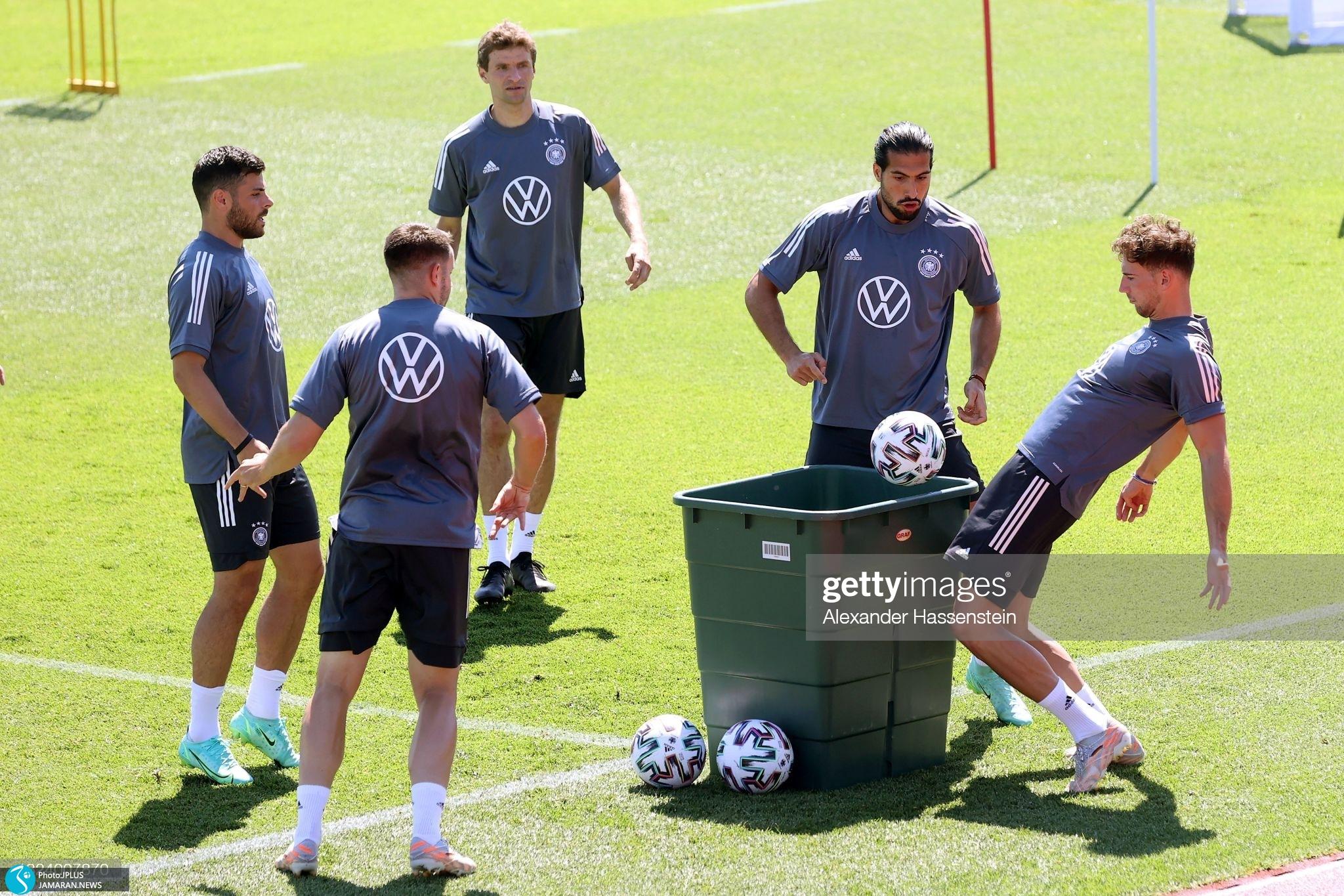 تمرینات تیم ها در یورو ۲۰۲۰