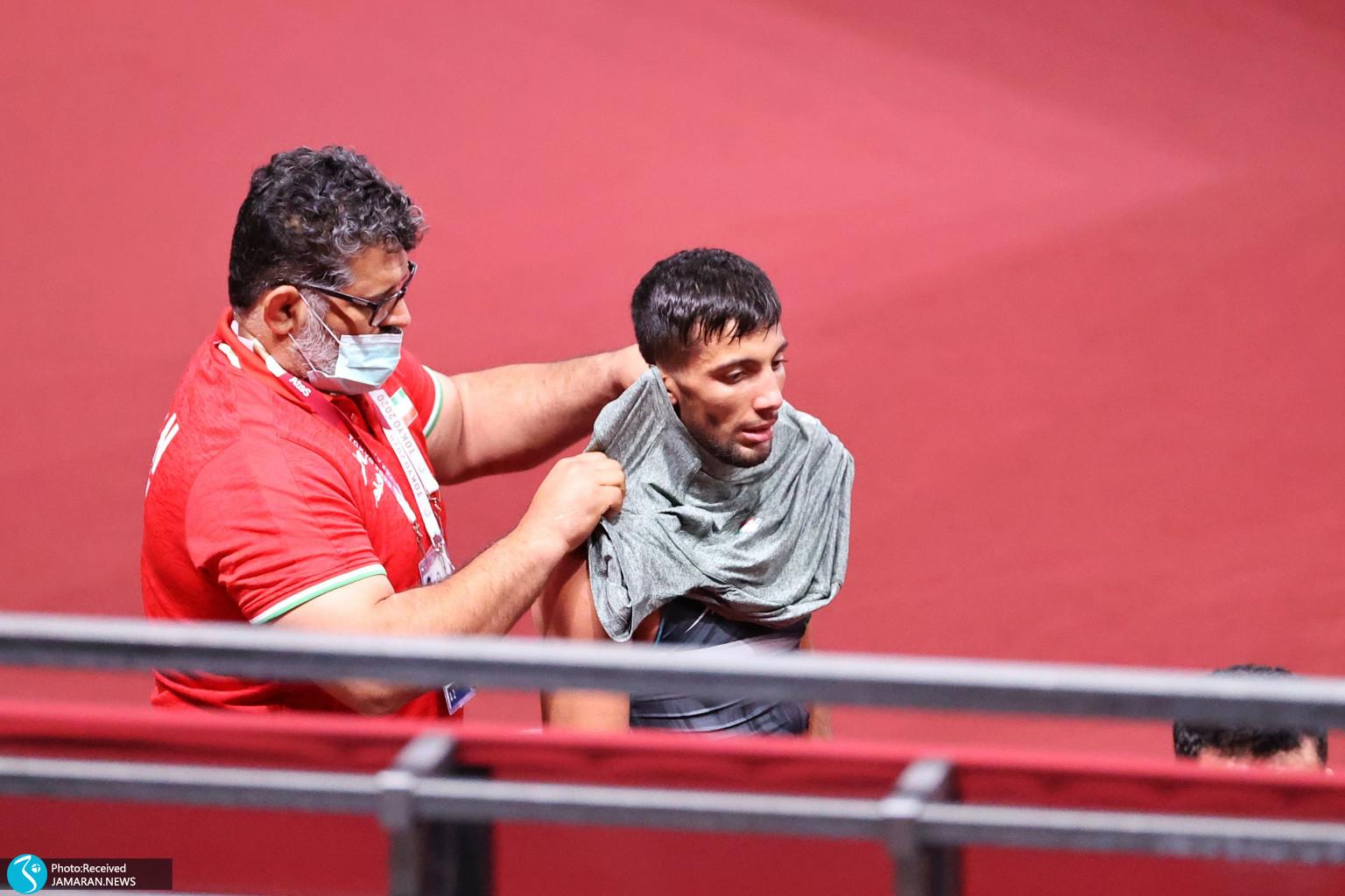 محمدرضا گرایی کشتی فرنگی المپیک رسول جزینی