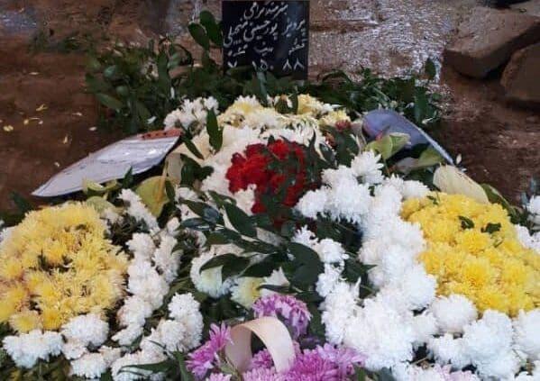 مراسم تشییع پیکر پرویز پورحسینی