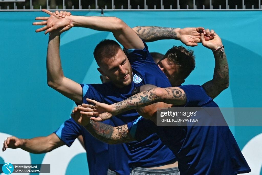 یورو ۲۰۲۰ - تیم فوتبال اسلواکی و سوئد