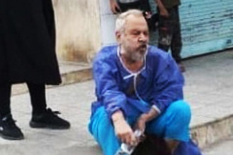 قاسم آهنین جان در خیابان رها شد