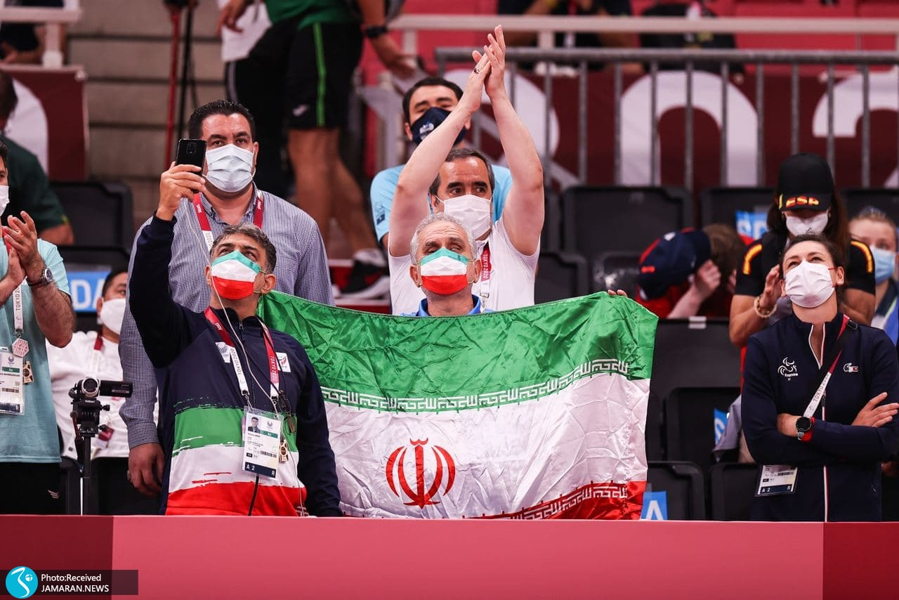 اهدای مدال وحید نوری در پارالمپیک 2020