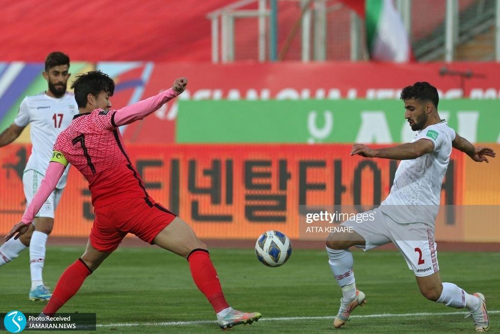صادق محرمی سون هیونگ مین تیم ملی فوتبال ایران کره جنوبی انتخابی جام جهانی