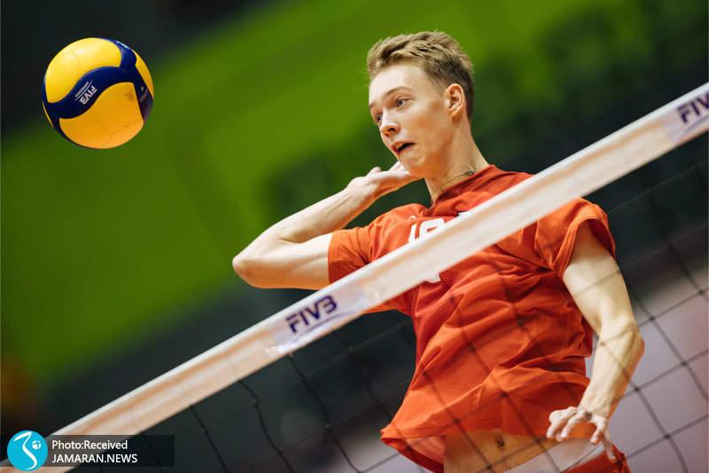 والیبال نوجوانان جهان ایران روسیه