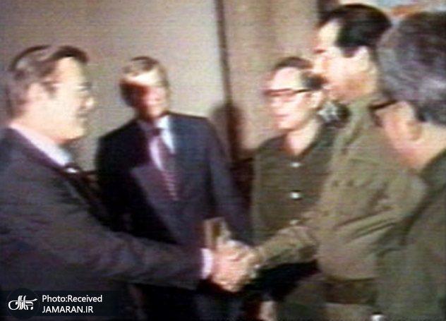Rumsfeld-Hussein