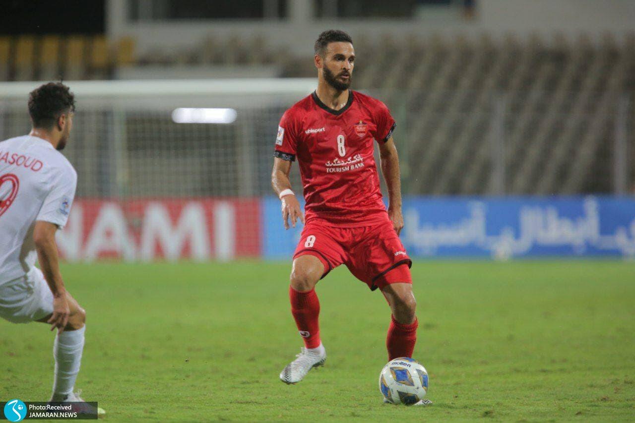 لیگ قهرمانان آسیا پرسپولیس الریان قطر احمد نوراللهی
