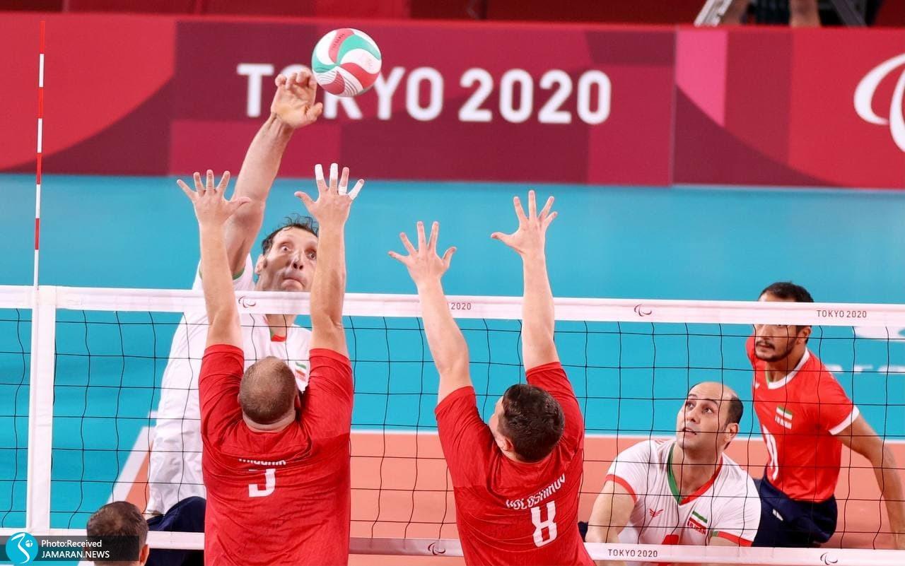 پارالمپیک 2020 - والیبال نشسته ایران و روسیه