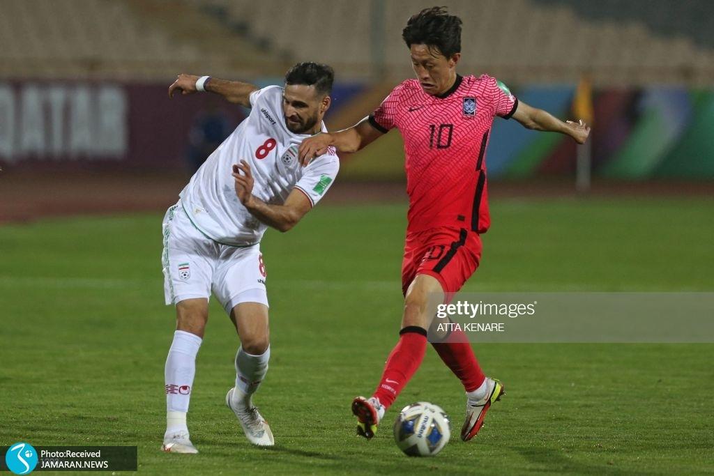 احمد نوراللهی لی سئون وو تیم ملی فوتبال ایران کره جنوبی انتخابی جام جهانی