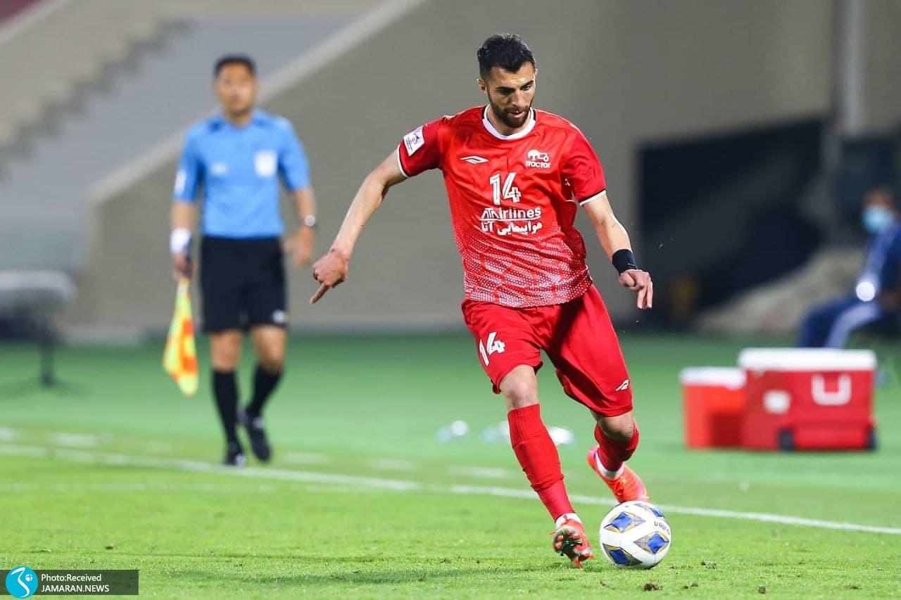 لیگ قهرمانان آسیا تراکتور شارجه امارات