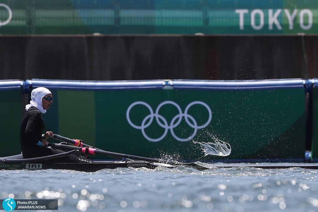 نازنین ملایی روئینگ المپیک