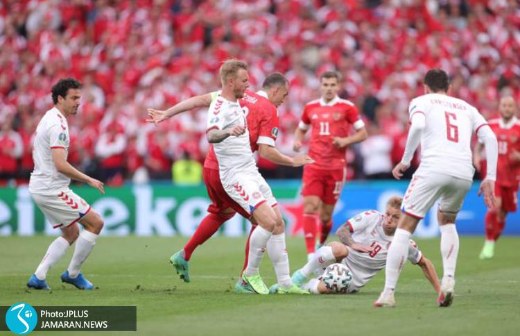 یورو ۲۰۲۰ - روسیه و دانمارک