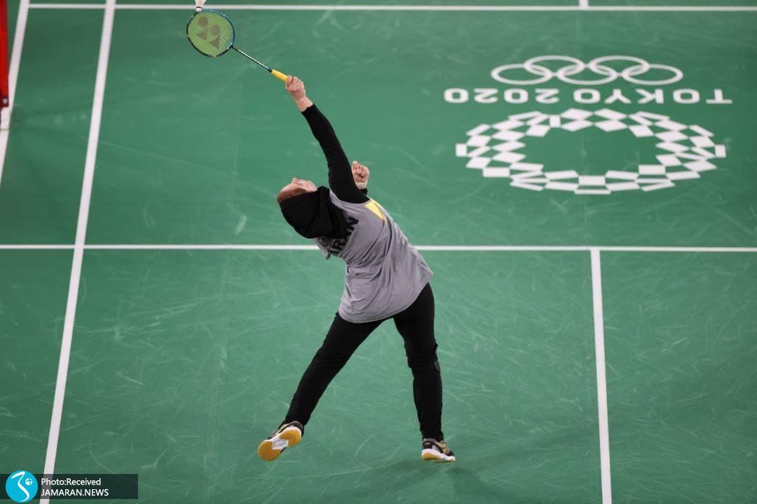 ثریا آقایی در المپیک توکیو
