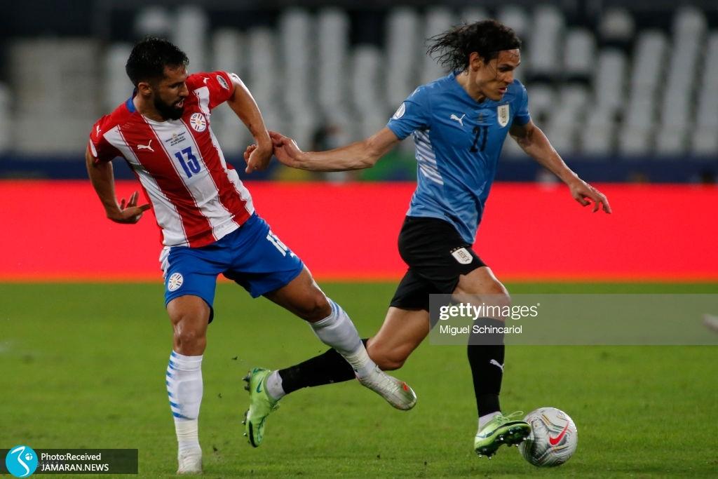 تیم فوتبال اروگوئه و پاراگوئه