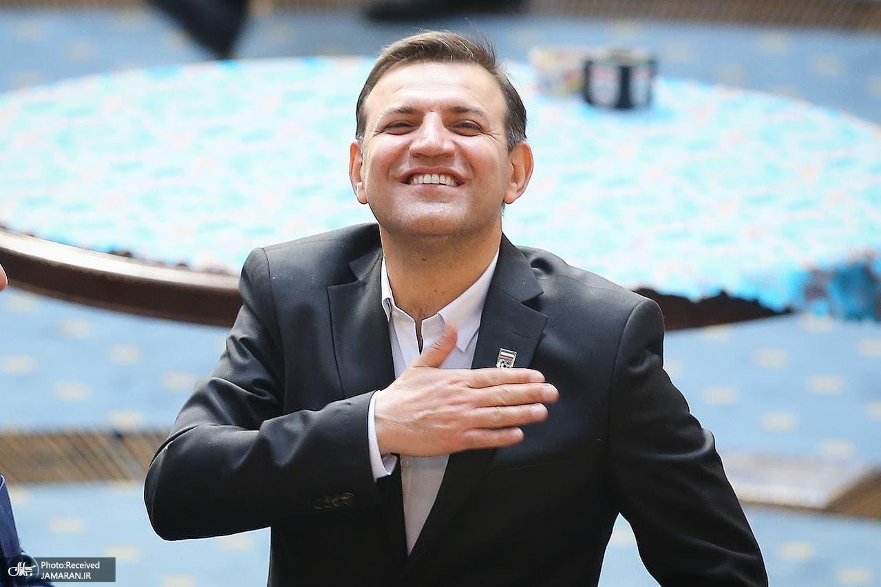 شهاب الدین عزیزی خادم - رئیس فدراسیون فوتبال - رییس فدراسیون فوتبال