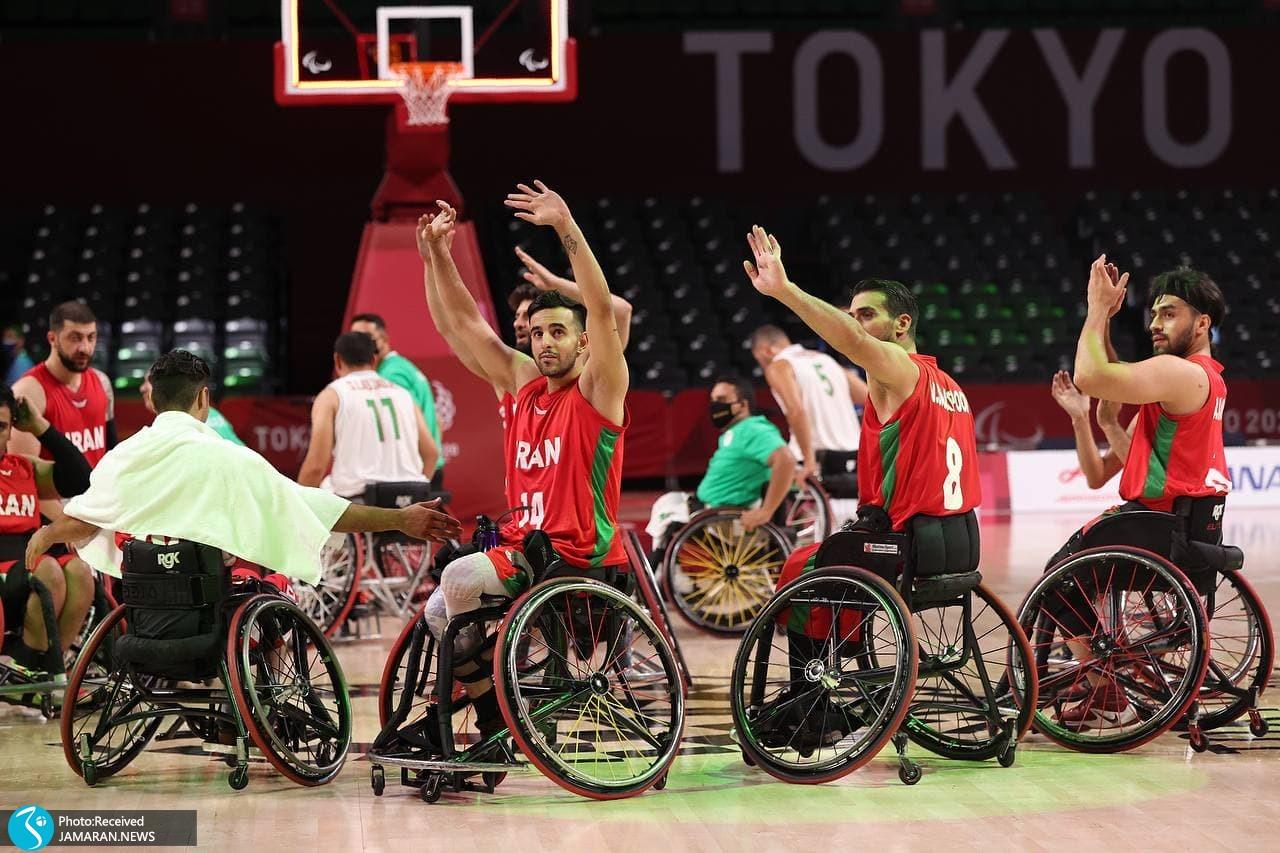 بسکتبال پارالمپیک 2020- ایران - الجزایر