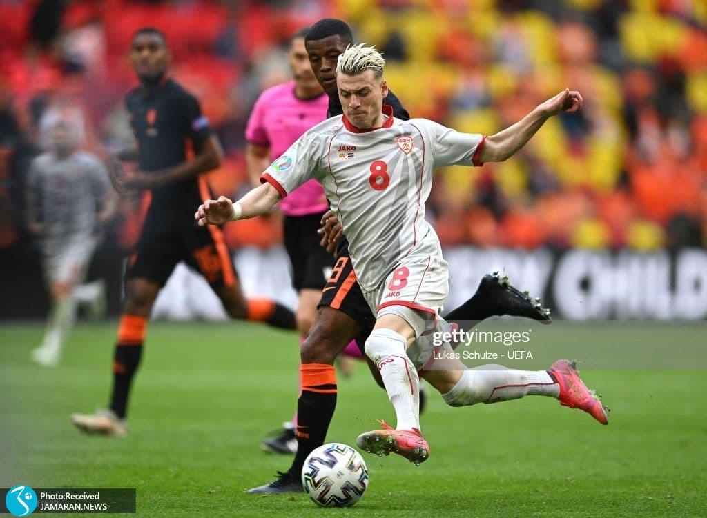 یورو 2020- تیم فوتبال هلند تیم فوتبال مقدونیه