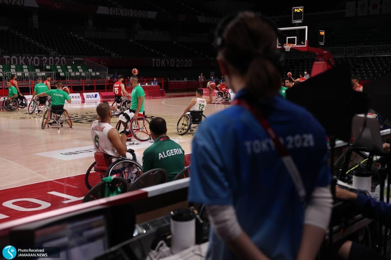 بسکتبال با ویلچر پارالمپیک 2020 - ایران - الجزایر