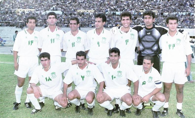 تیم ناصر حجازی، 22 سال قبل
