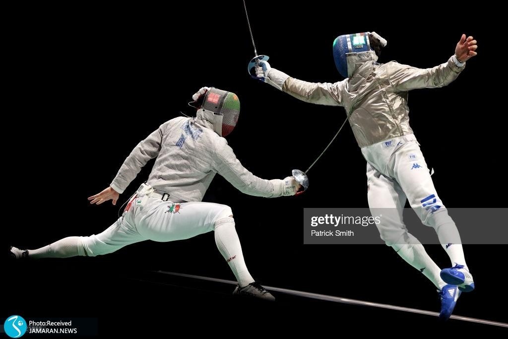 تیم ملی شمشیربازی اسلحه سابر ایران در المپیک