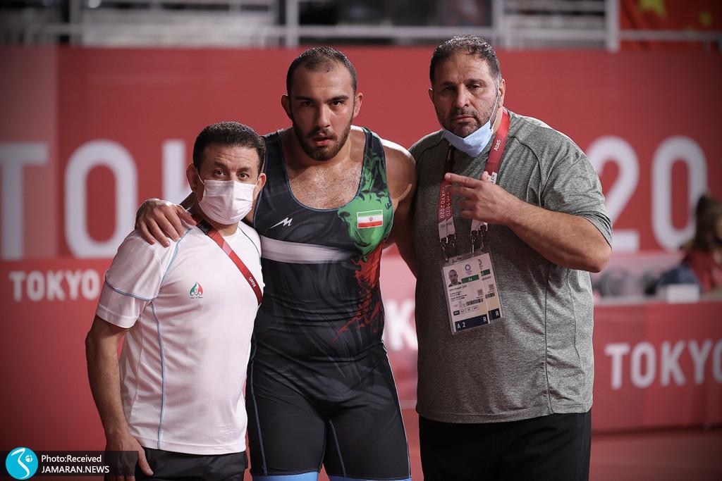 امیرحسین زارع در کشتی آزاد المپیک