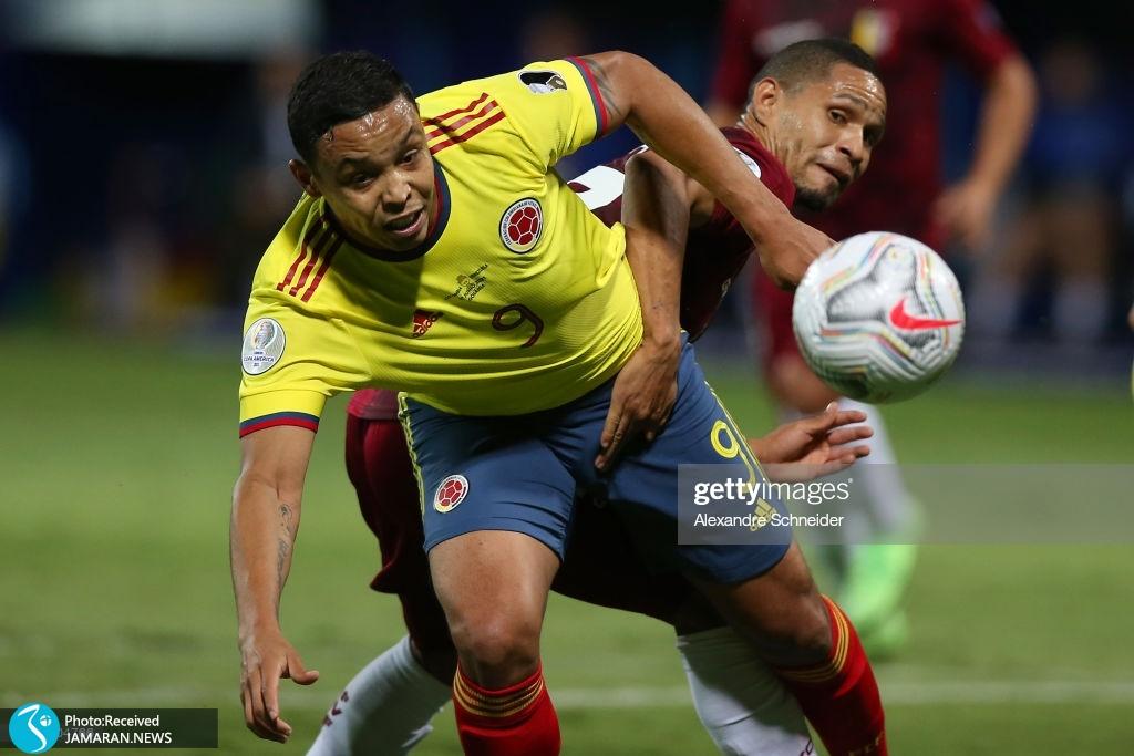 کوپا آمه ریکا ۲۰۲۱ - تیم فوتبال کلمبیا و ونزوئلا