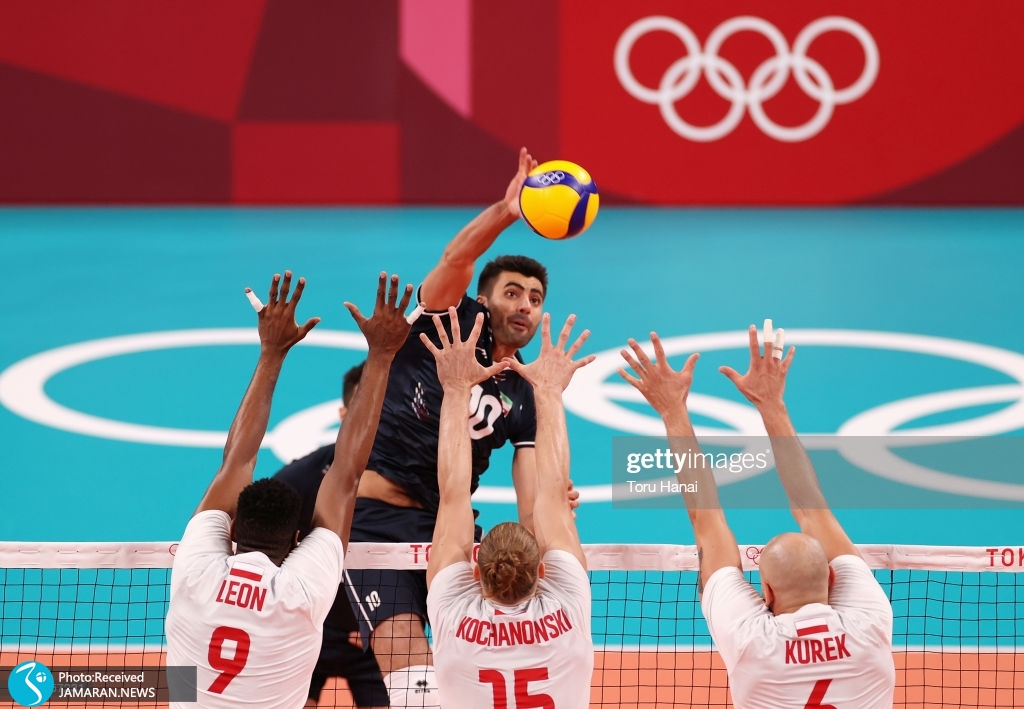والیبال ایران و لهستان در المپیک ۲۰۲۰ توکیو