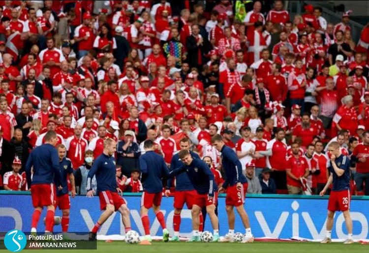 یورو ۲۰۲۰ - دانمارک و روسیه