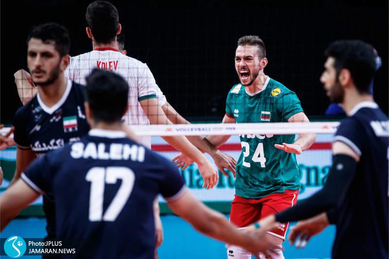 لیگ ملت های والیبال 2021- ایران - بلغارستان