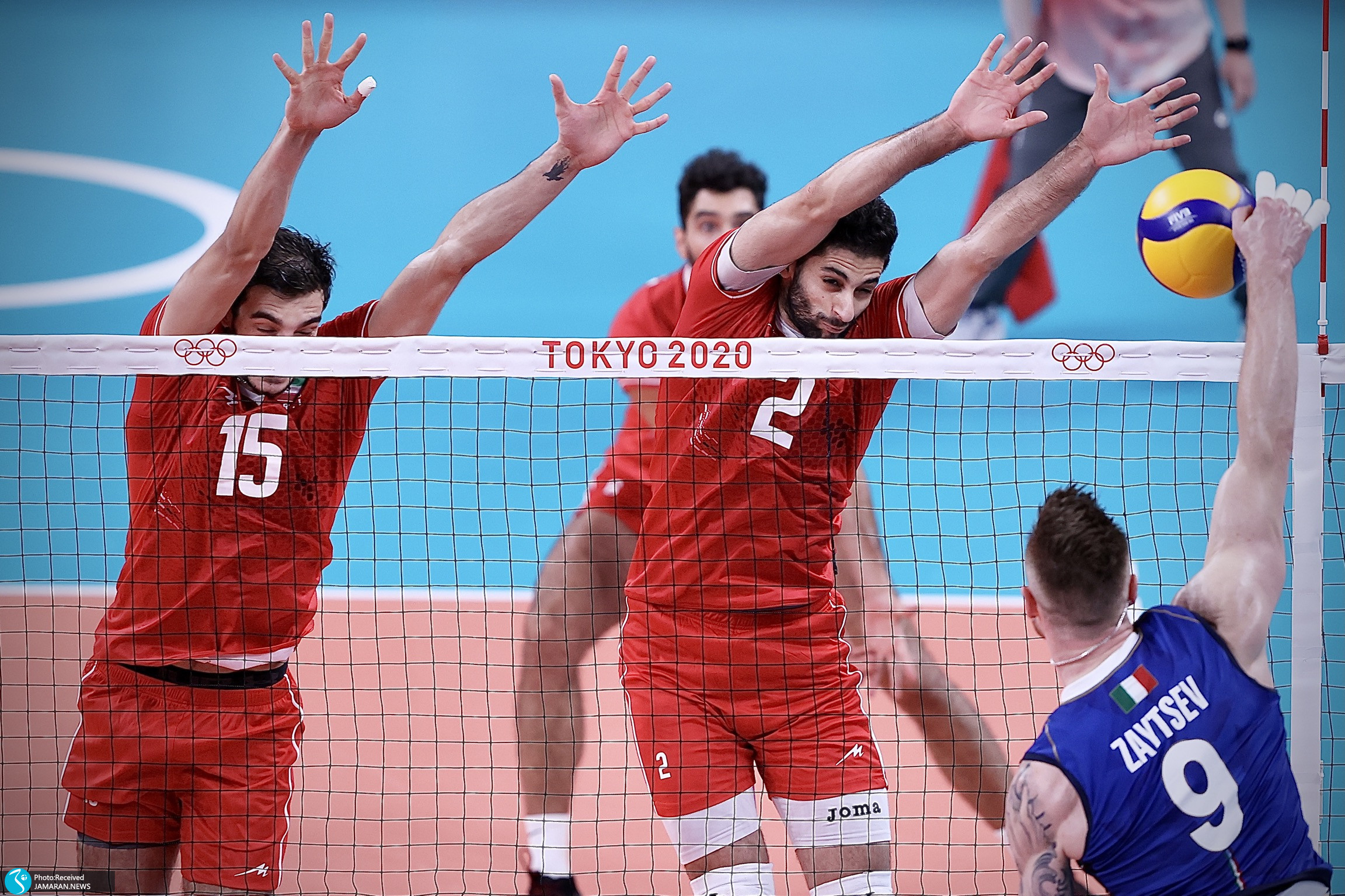 والیبال ایران - ایتالیا