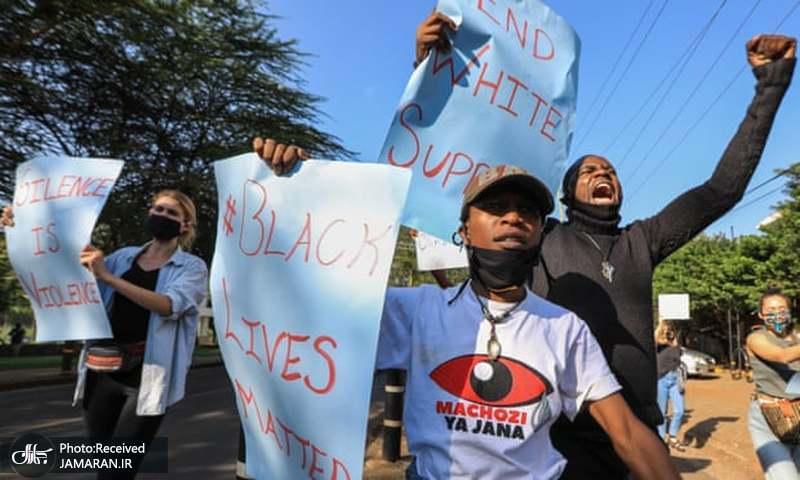 تظاهرات کنیا