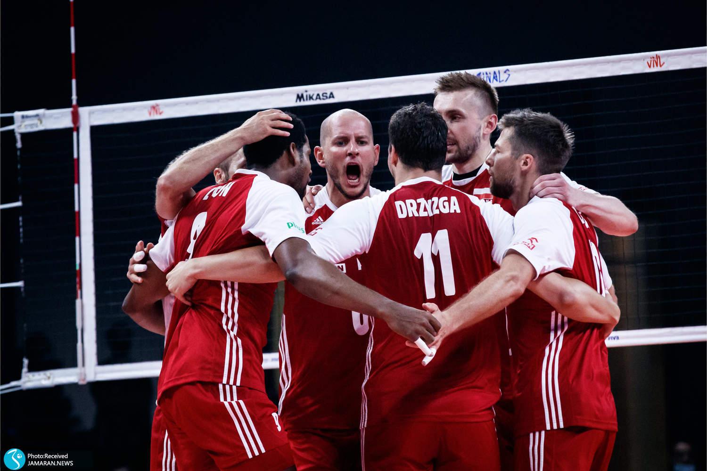 اختتامیه لیگ ملت های والیبال - والیبال لهستان و برزیل