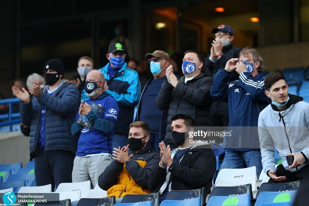بازگشت تماشاگران به استادیوم های انگلیس