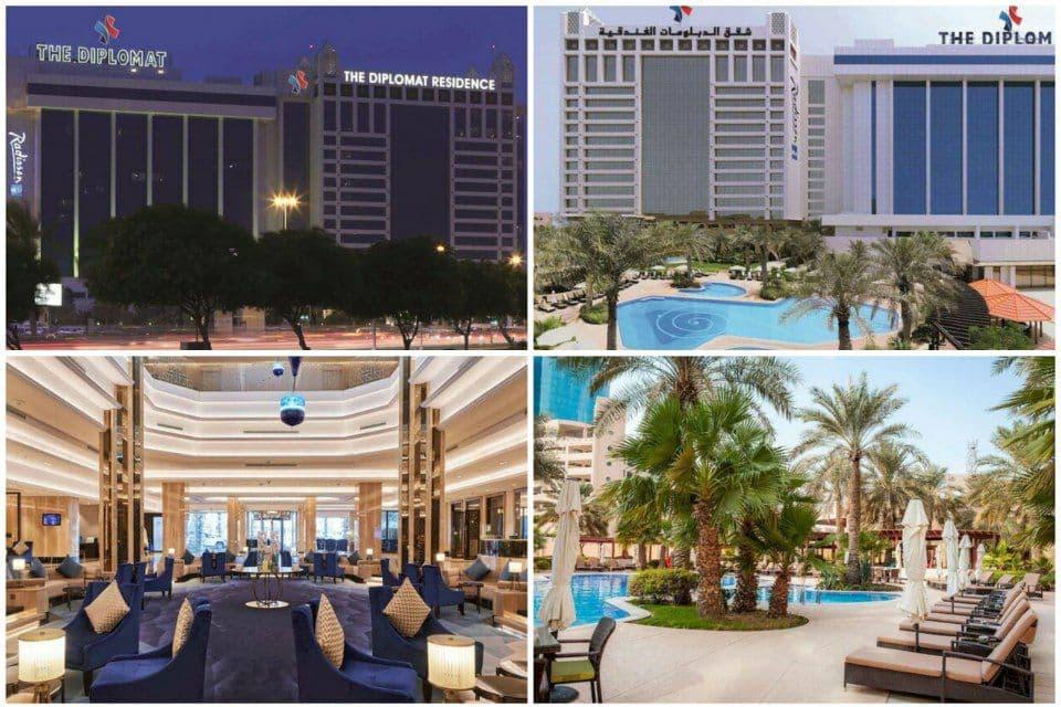 تصویری از هتل محل اقامت تیم ملی در بحرین