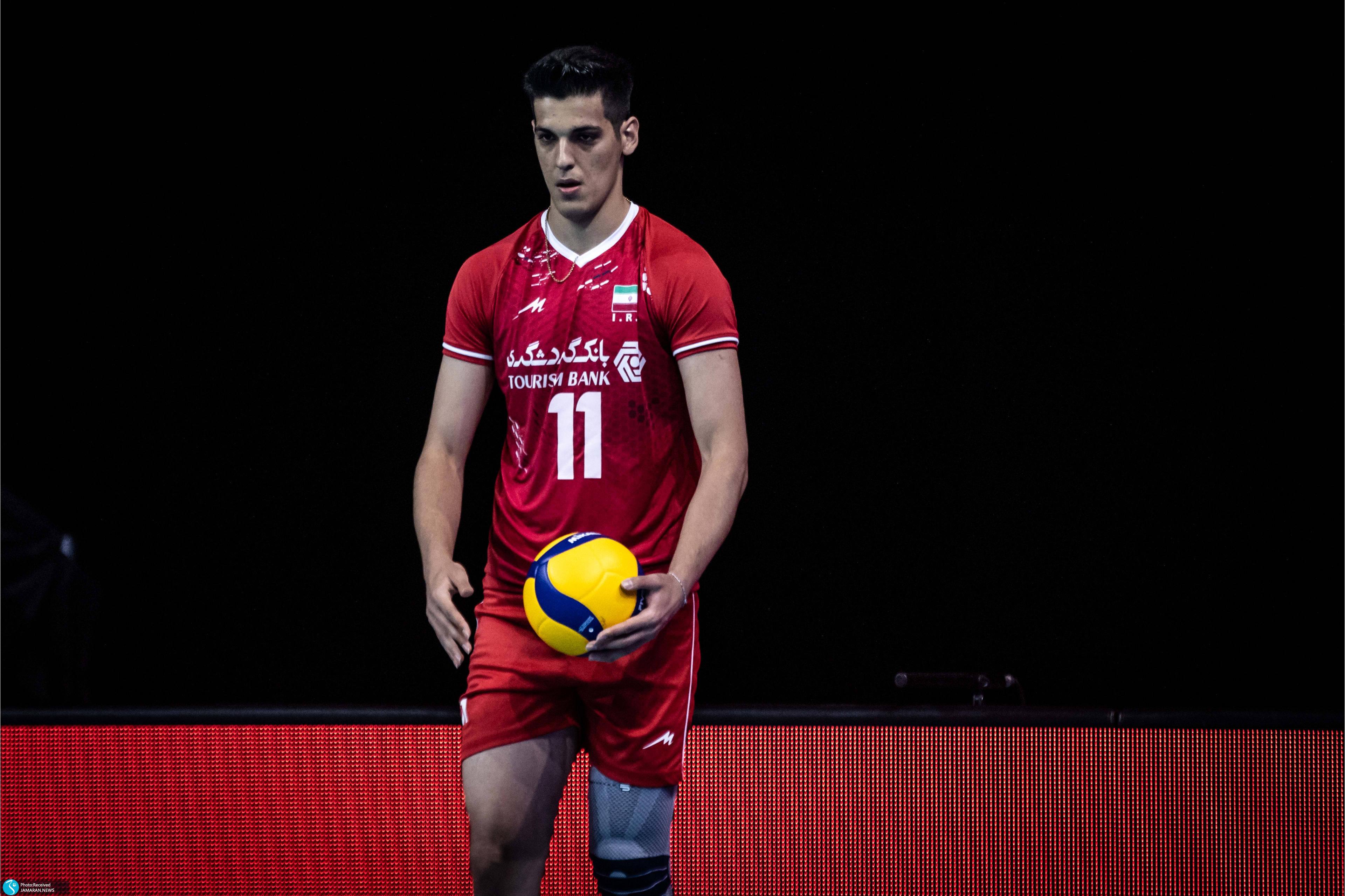 لیگ ملت های والیبال 2021- تیم ملی والیبال ایران- ایران و آمریکا
