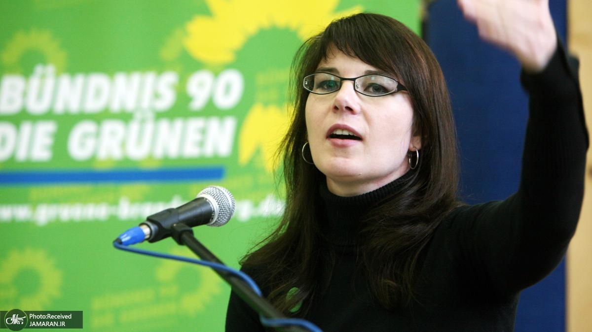 Annalena-Baerbock-spricht-auf-dem-Landesparteitag-von-Buendnis90-Die-Gruenen-in-Angermuende-Uckermark-aufgenommen-am-14-November-Die-Landesvorsitzenden-der-Gruenen-Annalena-Baerbock