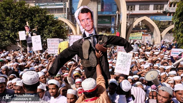 اعتراضات+ضد+فرانسوی+در+کشورهای+مسلمان
