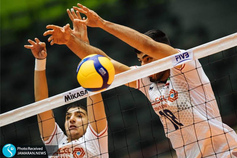والیبال نوجوانان جهان ایران و روسیه