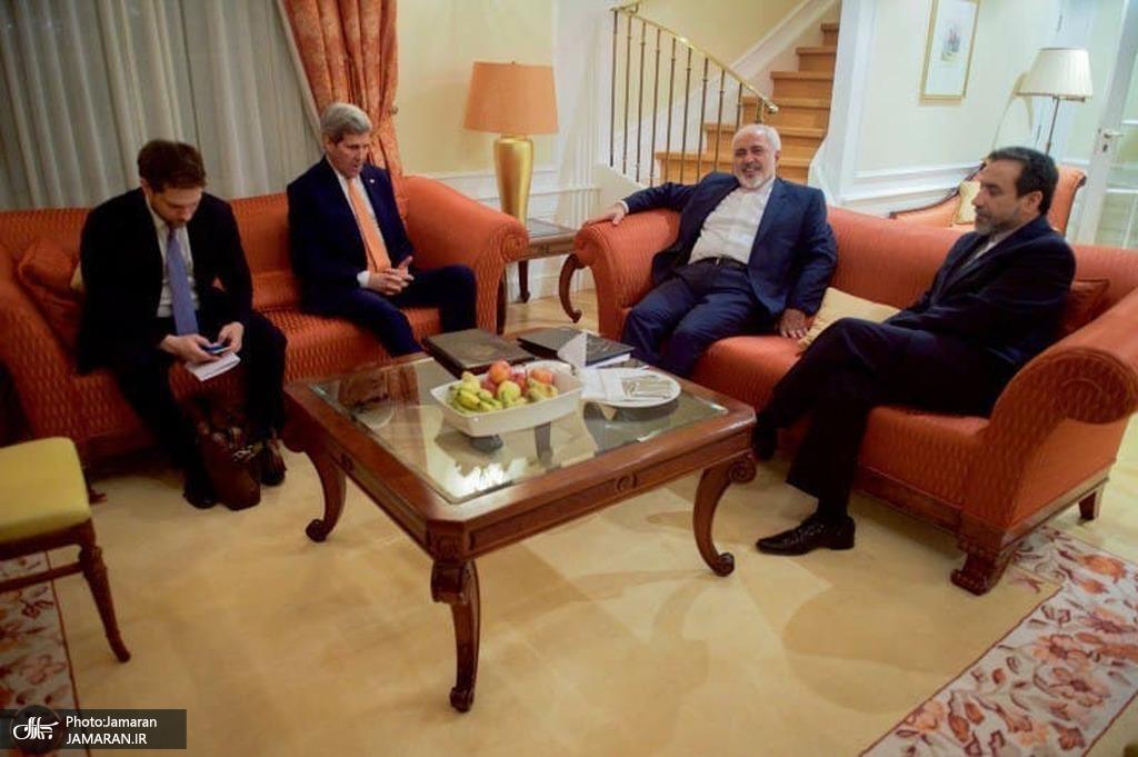 رزیدانس اعضای وزارت خارجه در نیویورک و آمدن جان کری به این محل برای دیدار با دکتر ظریف