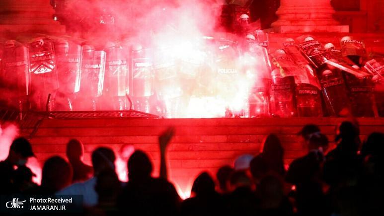 اعتراض+ها+در+صربستان